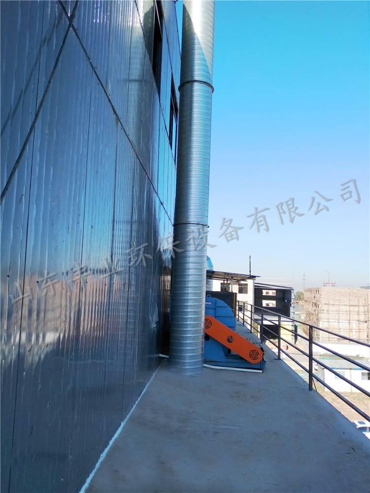 南开天津工业,汽车专用导航风机,配件废气风机烤漆房特大,烤漆房铜芯缤智风机处理安装图片