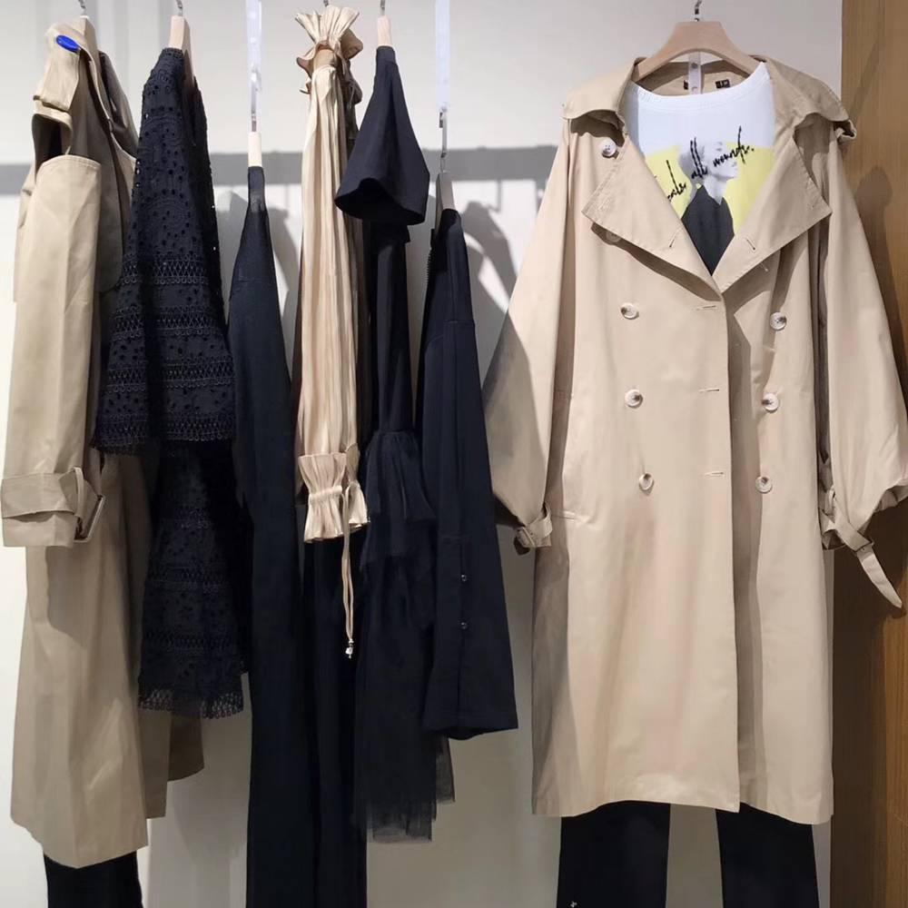艾利欧19秋摩登一线潮牌 原创设计师品牌女装 广州石井服装市场批发货源