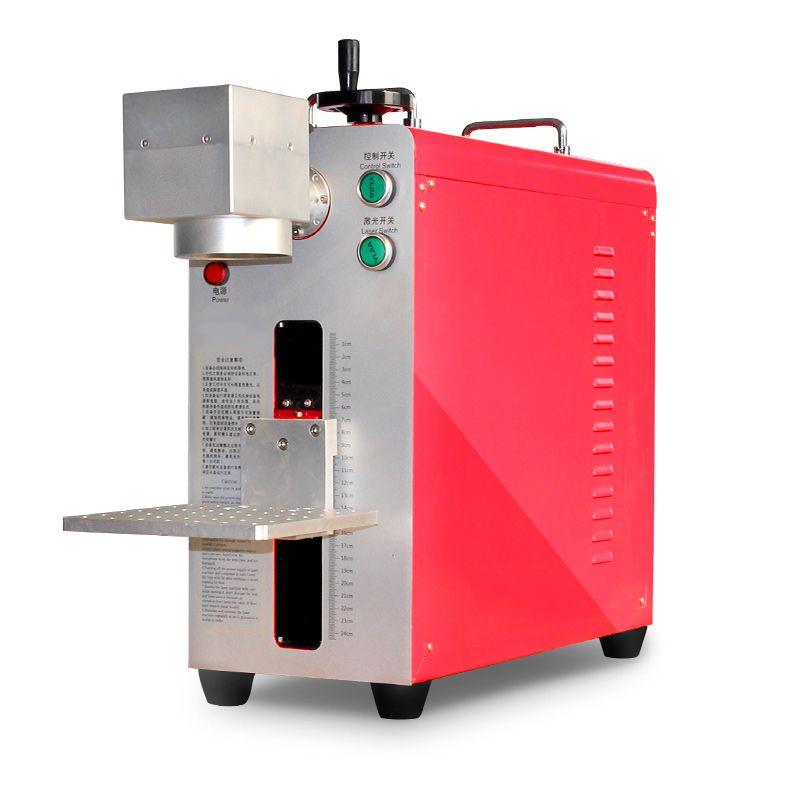 光纤激光打标机使用效果 激光打标机教程视频