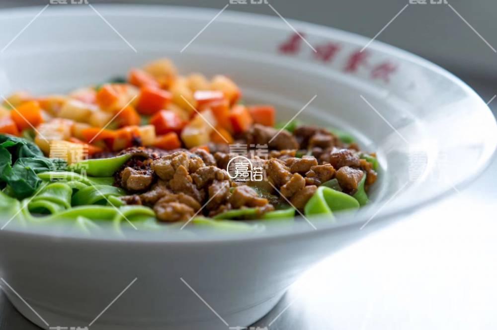 菠菜面培训班 西安菠菜面手擀面小吃培训