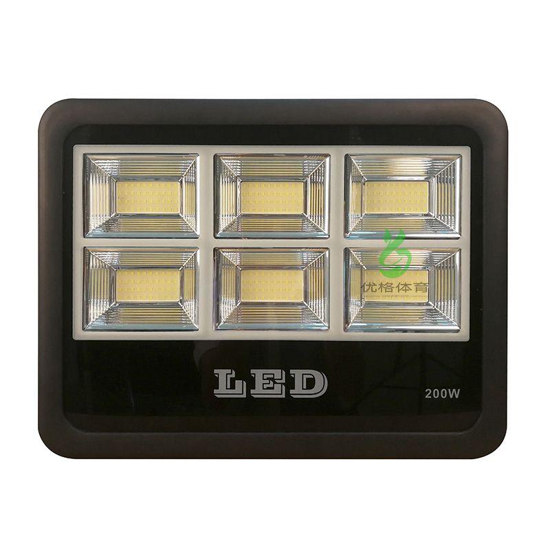LED投光灯篮球场 室外球场LED照明灯具 优格体育照明