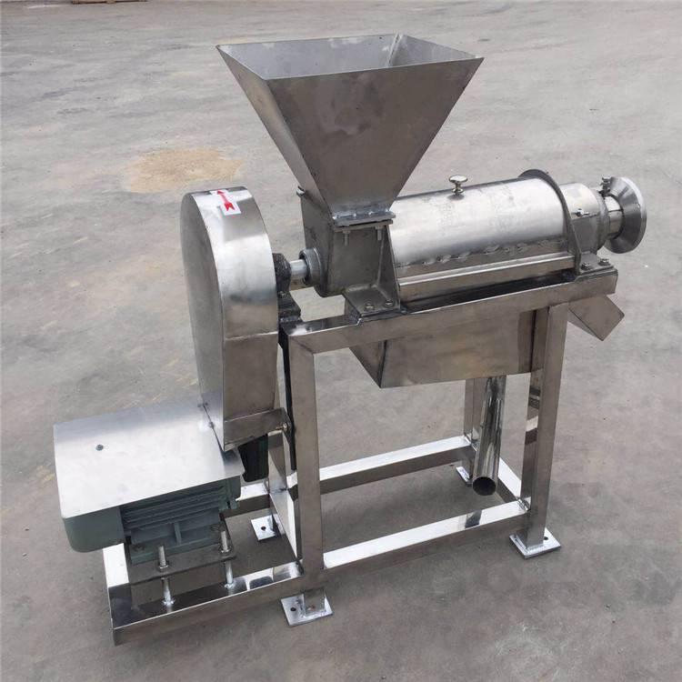 果蔬压榨机 /商用大型304不锈钢榨汁机/可破碎螺旋榨汁机