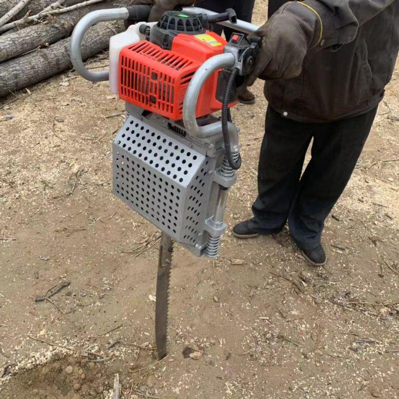 锯齿挖树机价格 手提便携式挖树机 大树断根机