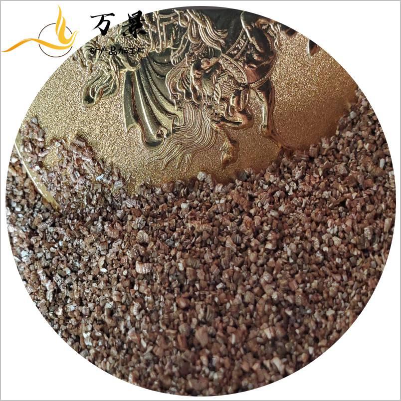 每立方米蛭石能吸收500-650升的水