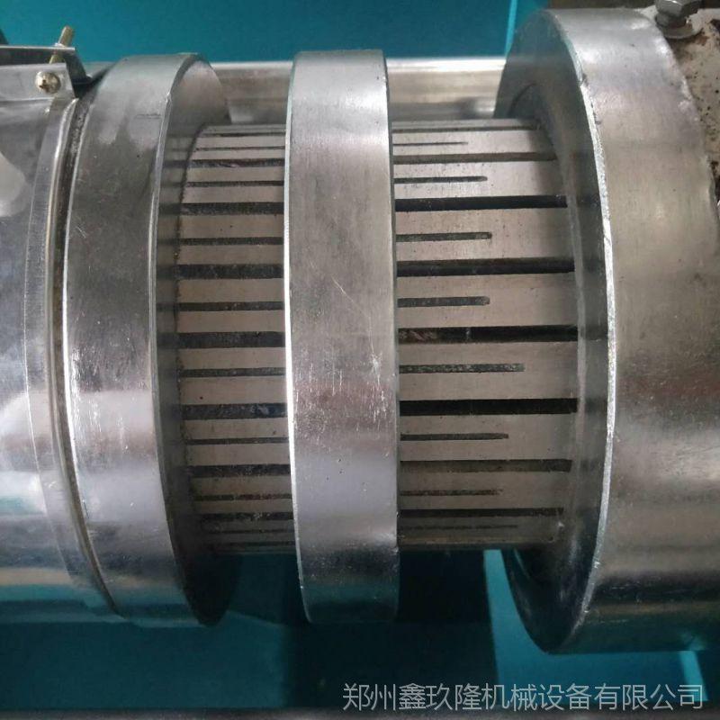 茶籽榨油机厂家设备籽榨油机牡丹小型精炼油钢带图片