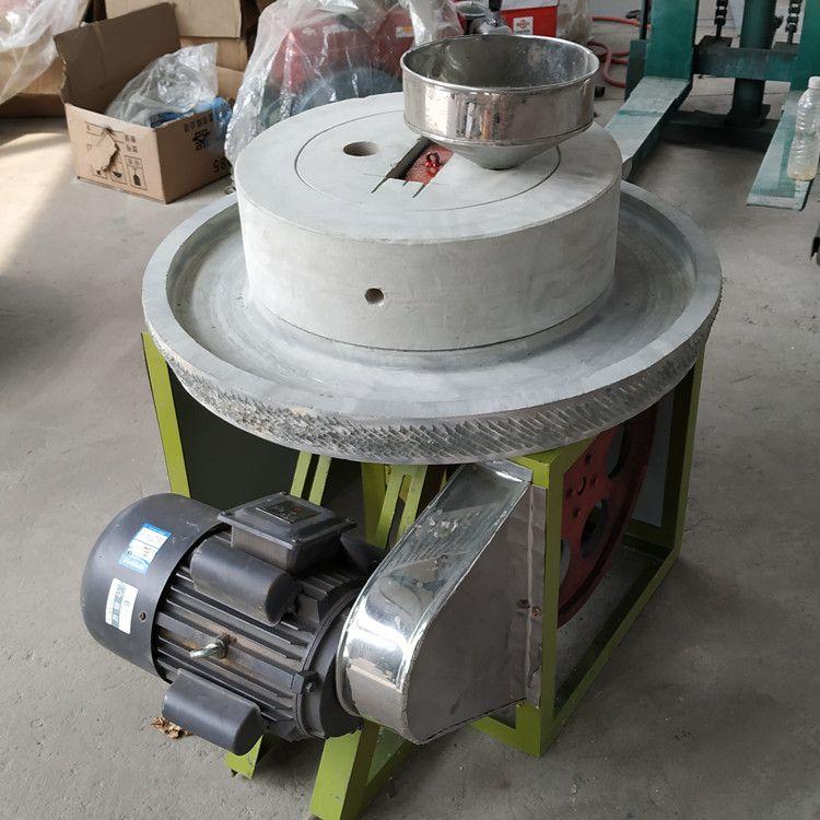 电动磨豆浆米浆石磨机