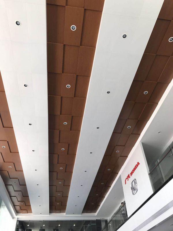 广汽本田4S店展厅铝单板天花吊顶