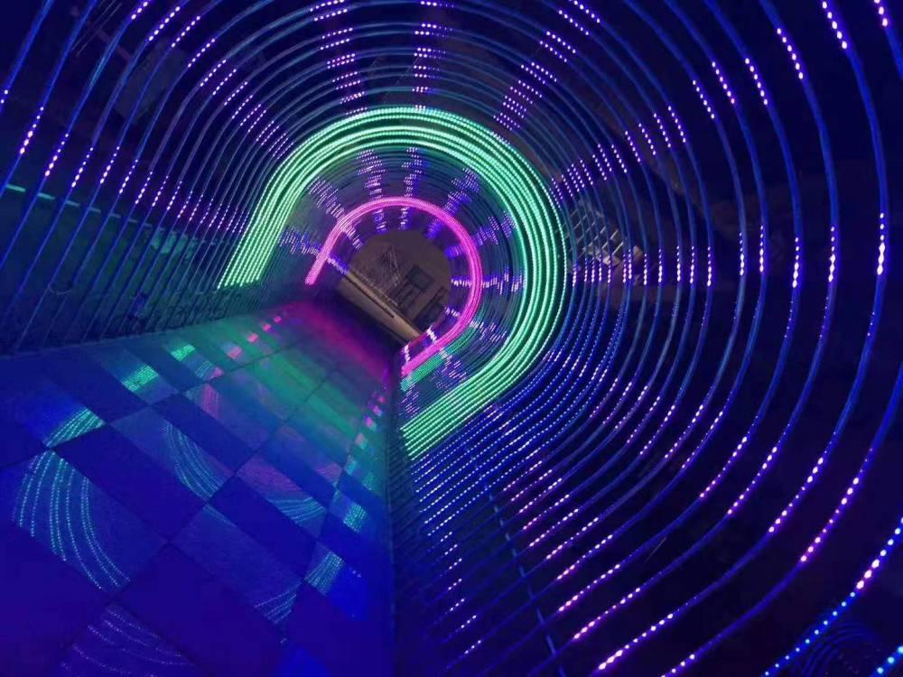 美陈灯光节,时光隧道,灯光展,树木亮化,街道亮化,景区布展,展馆展览