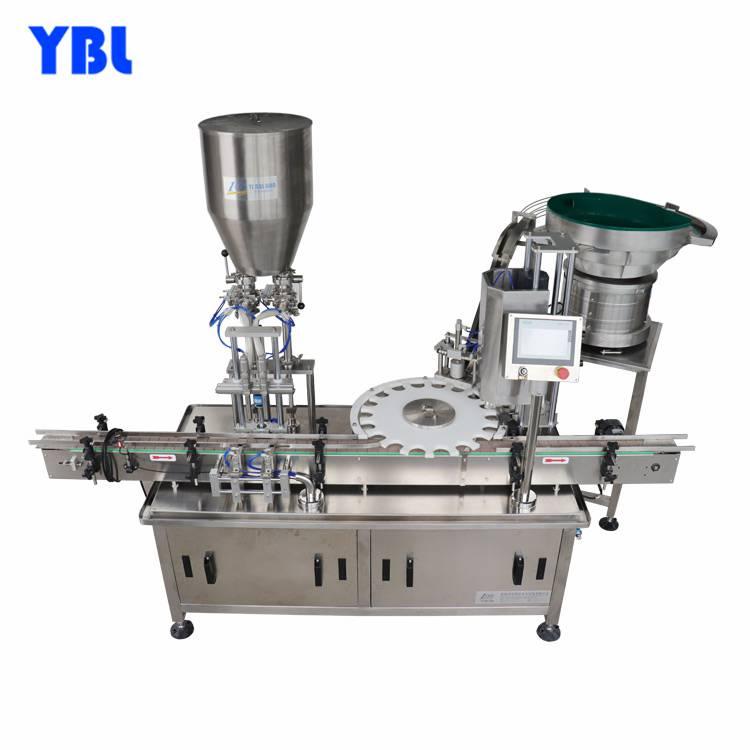 醫藥、化妝品、食品行業YBL-ZG-18直線式全自動膏體灌裝