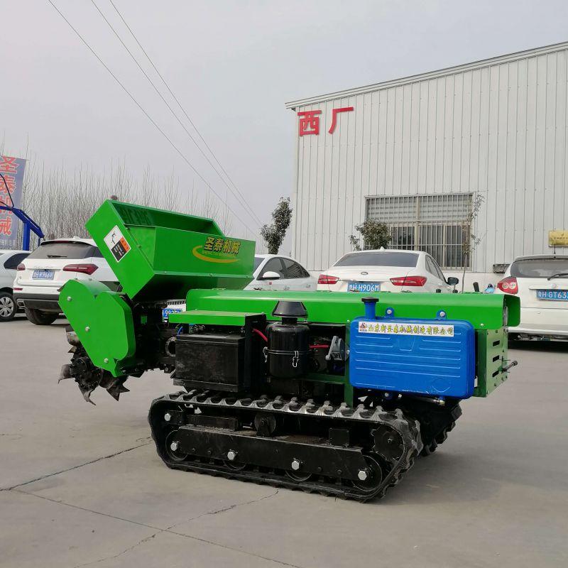 小型农用开沟机 多功能挖沟培土机 圣时机械 三包售后