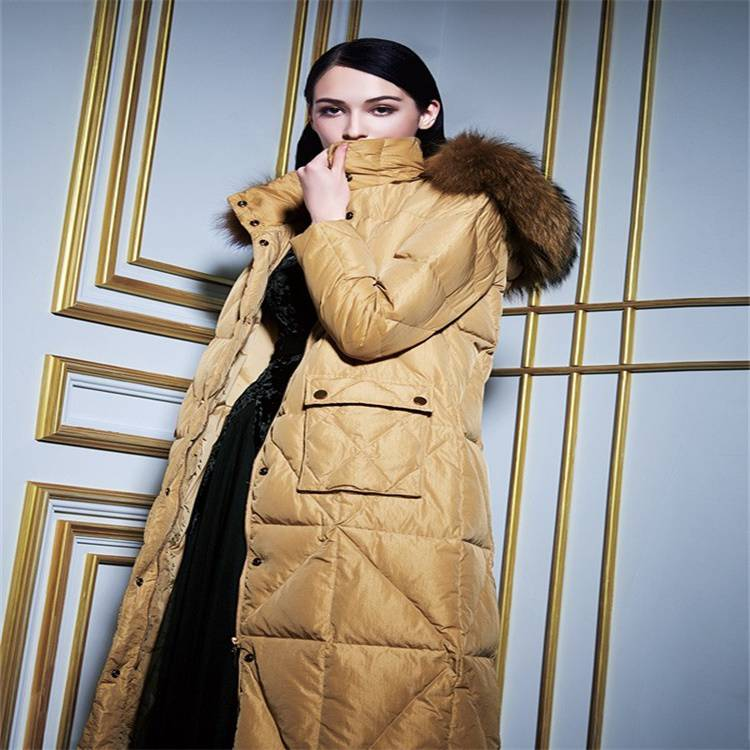 北京服裝批發市場 2019冬季羽絨服女歐美個性羽絨服折扣女裝