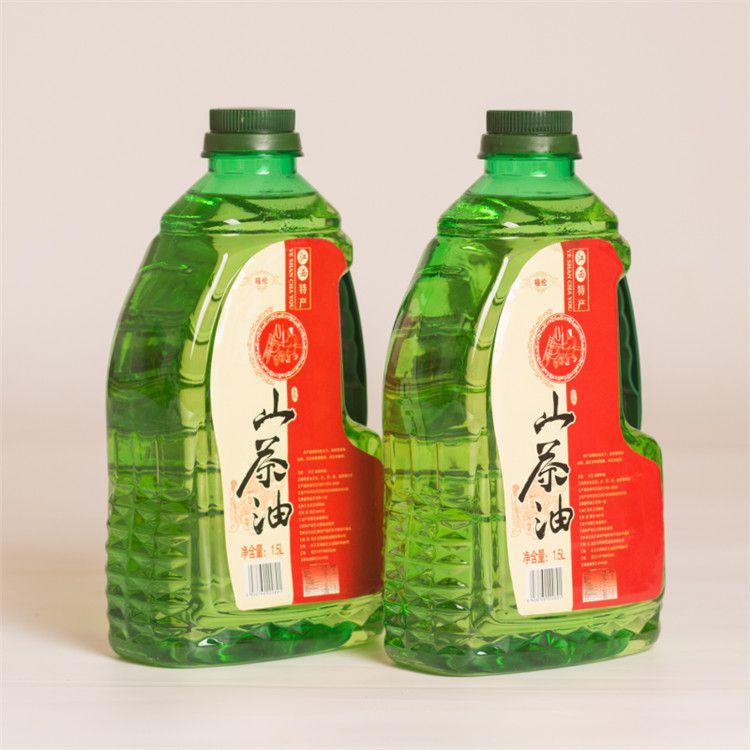 1.5L*2瓶礼盒装野山茶油冷压榨一级食用油