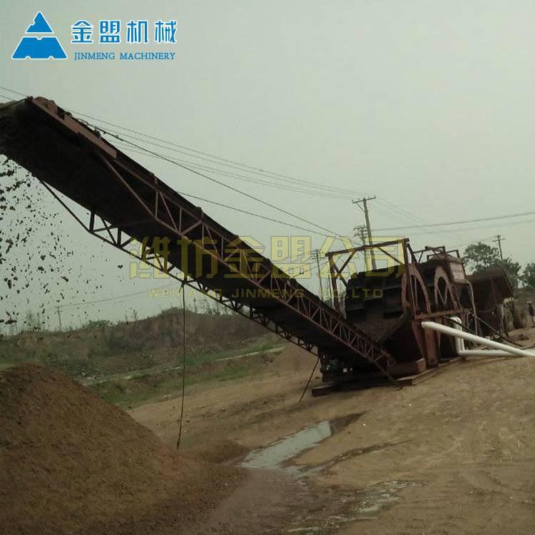 银川挖斗洗砂机的用水量大不大 山沙洗砂机常用型号