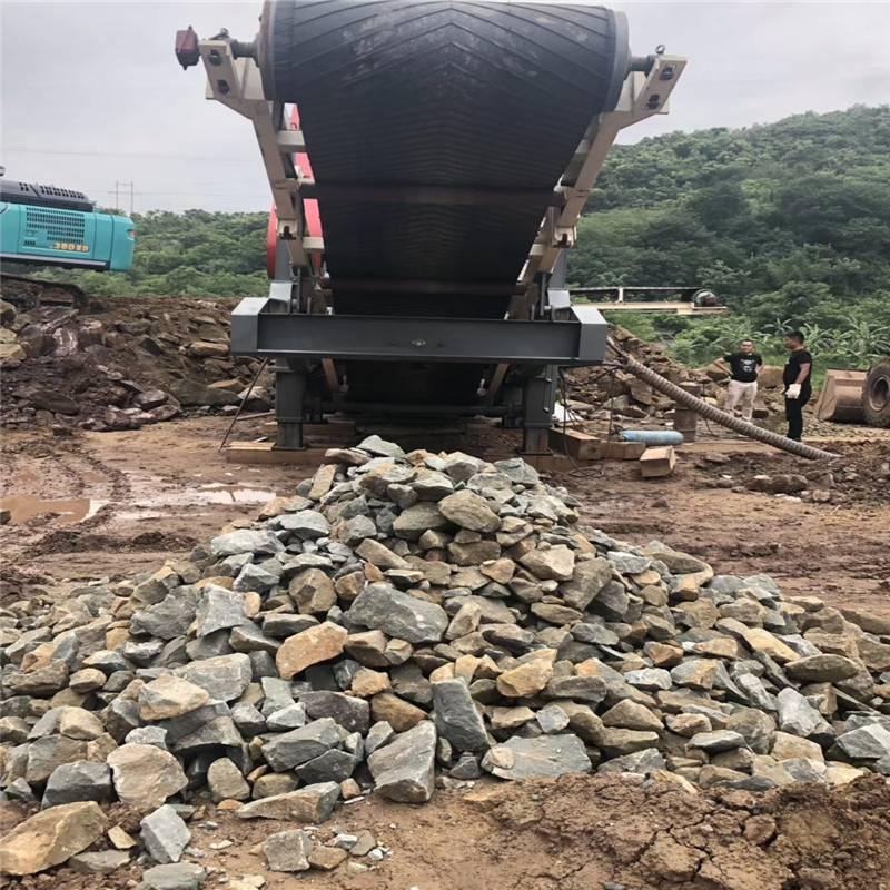 玄武岩生产工艺流程 时产100吨颚式破碎机
