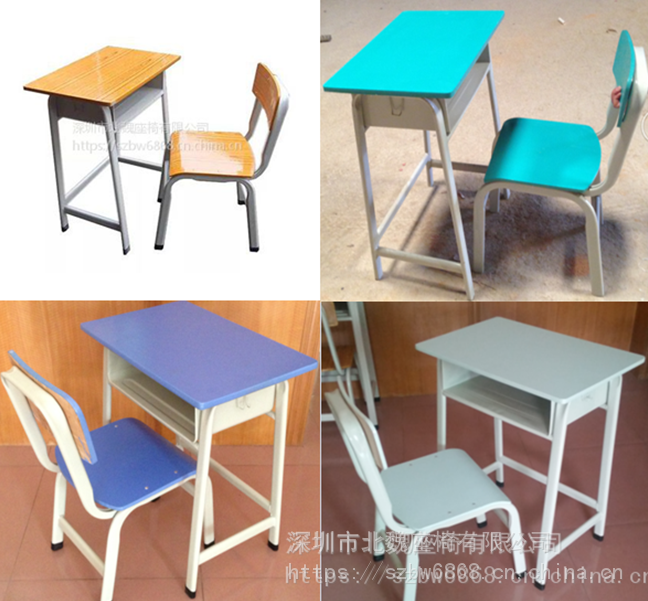 学生桌子图片大全单人*小学生家庭课桌椅图片*小学生单人课桌椅