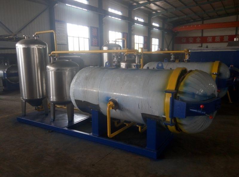 无害化湿化机运行过程