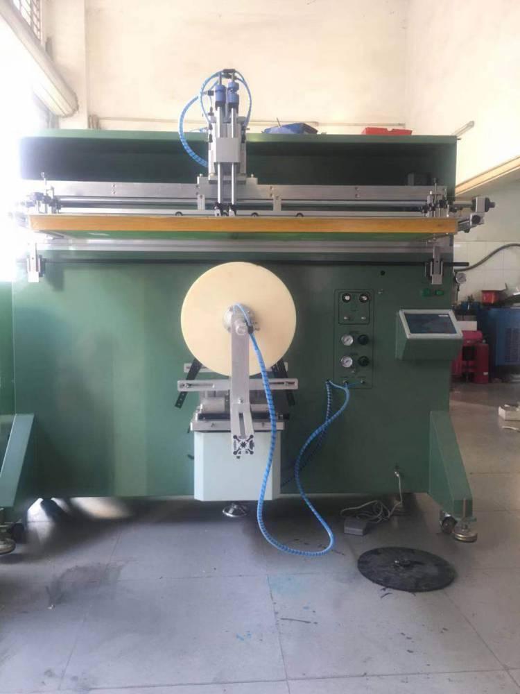 威海搪瓷不锈钢盆桶转盘丝印机厂家伺服丝印机