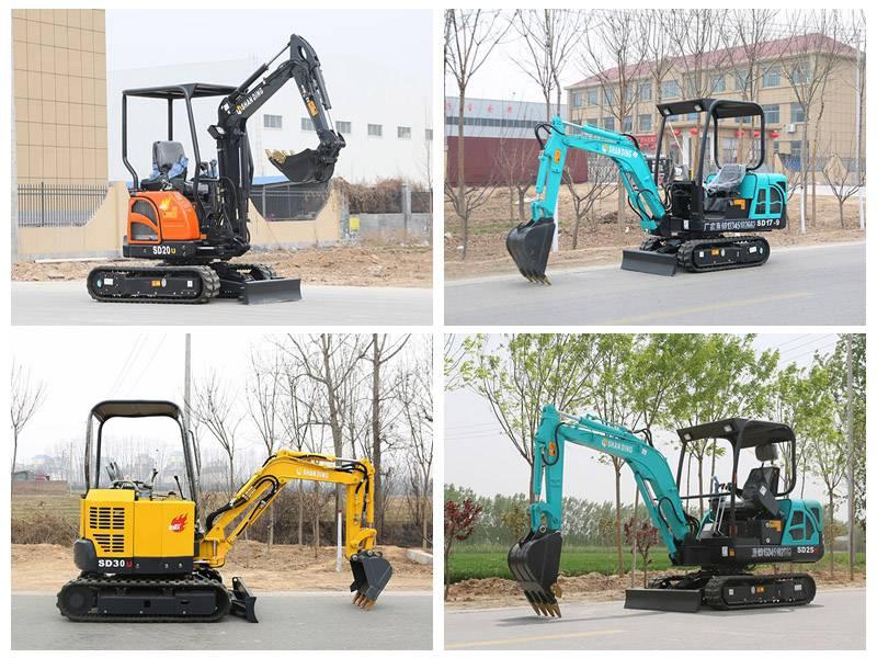 供应家用_山地承包小型挖掘机微型挖掘机厂家