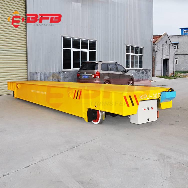 定制载重1-300吨电缆卷筒供电型轨道电动平车质量保证