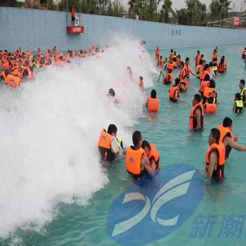 大型海啸池设备,真空造浪池设施,室外浪高3米造浪厂家
