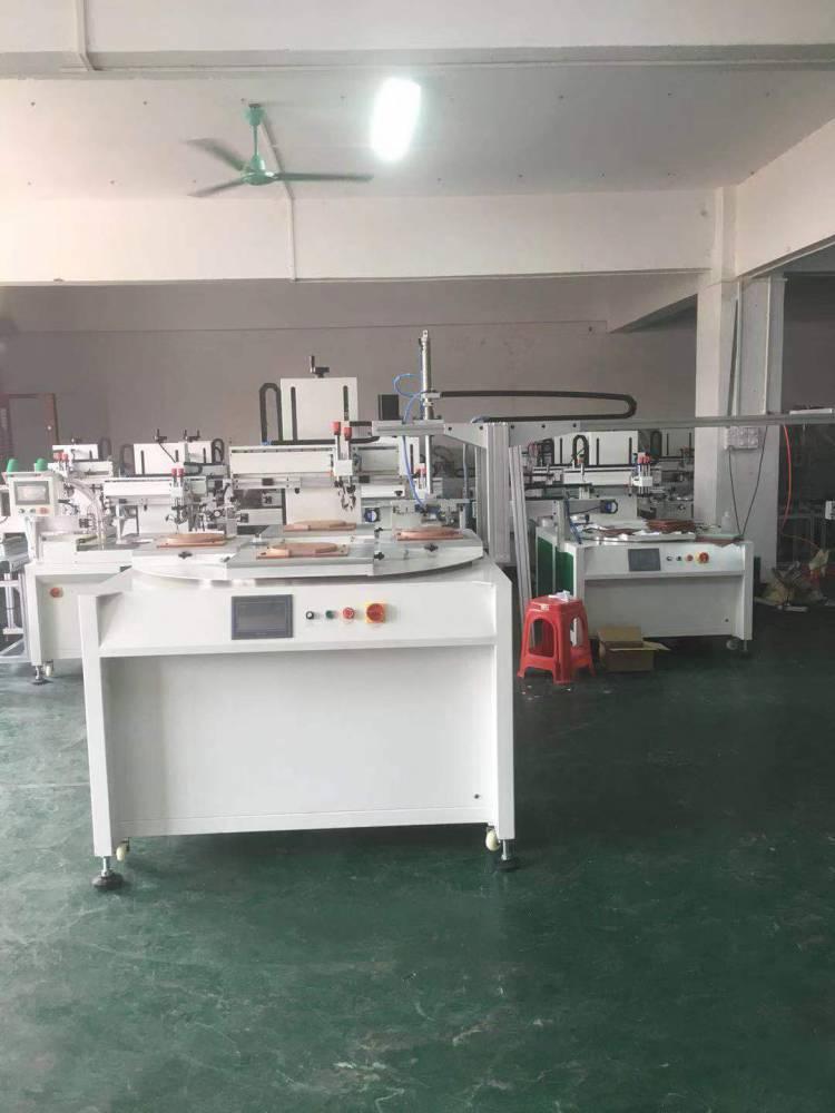 深圳眉笔转盘丝印机厂家半自动丝印机