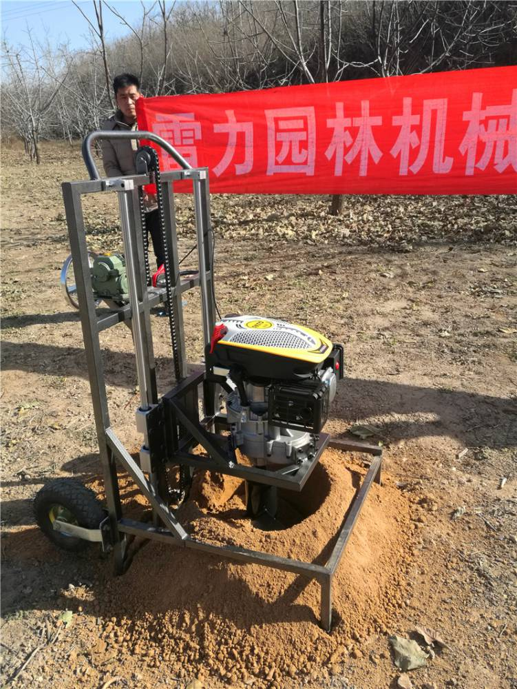 供应手提式挖坑机