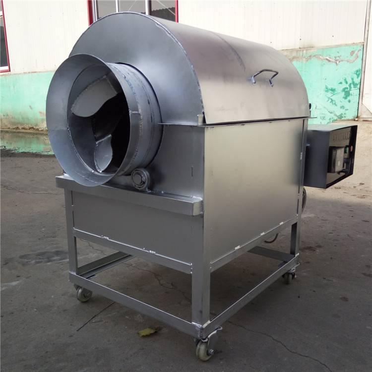小型50斤炒货机 燃气炒瓜子花生机 电加热芝麻滚筒炒锅