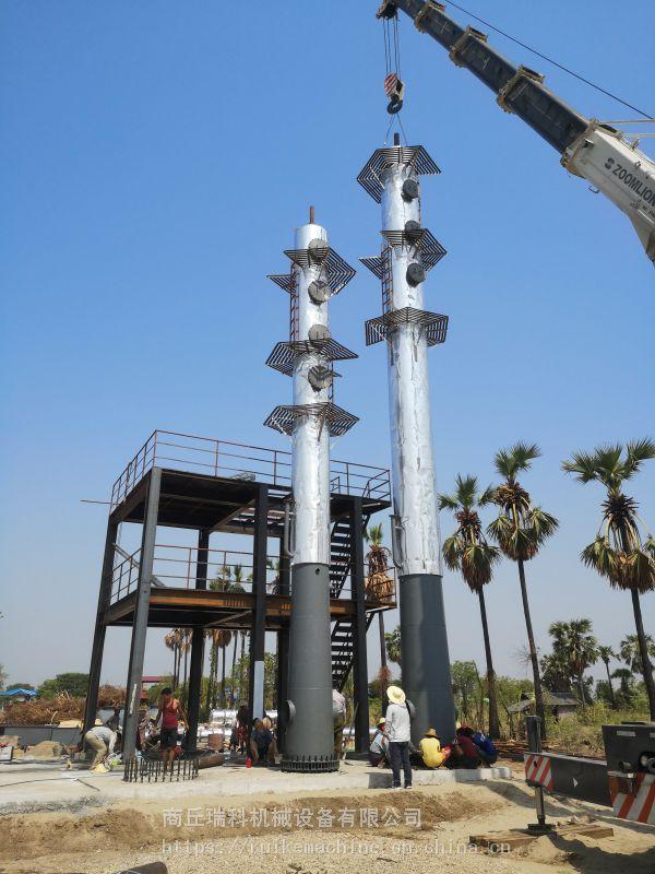 连续式24小时原油处理设备原油精炼柴汽油设备日处理量大