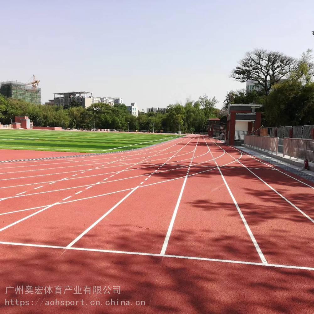 学校塑胶跑道施工 学校塑胶跑道的两种施工工艺方法
