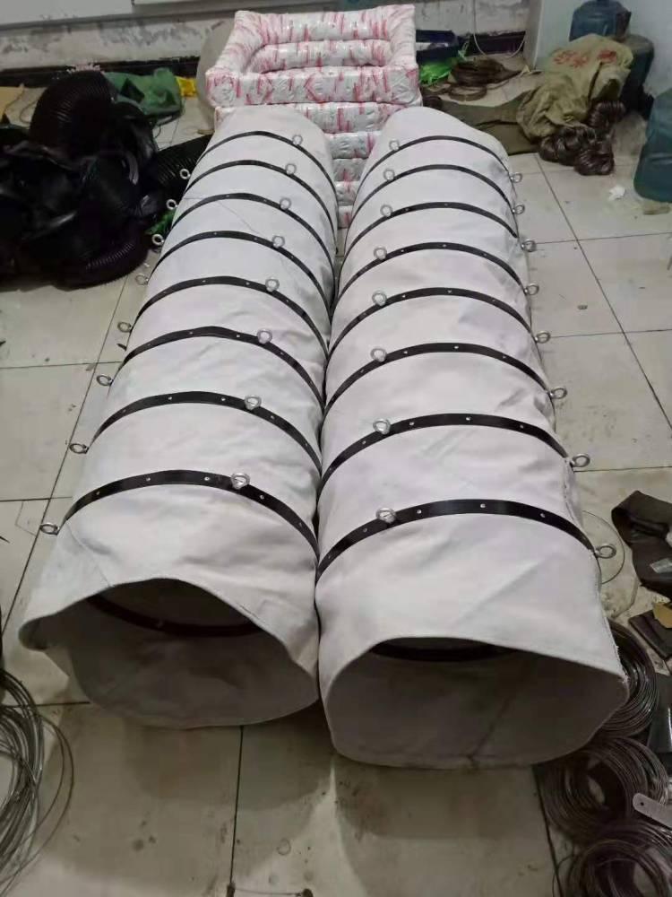 专业通风除尘厂家定做耐高温防火软连接帆布软连接风机进口软连接