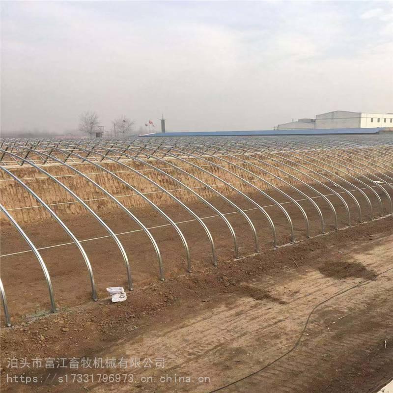 农业大棚骨架生产 建设大棚安装 大棚配件卡槽卡簧每米
