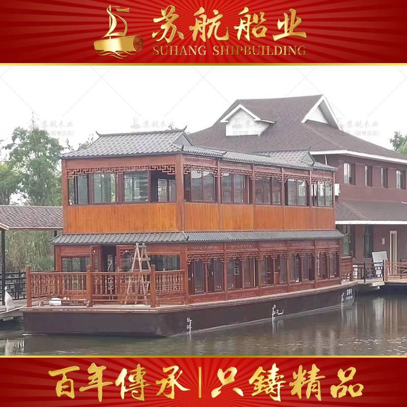山东哪里有豪华双层餐饮画舫船卖
