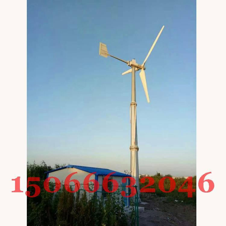10KW风力发电机安装成功!