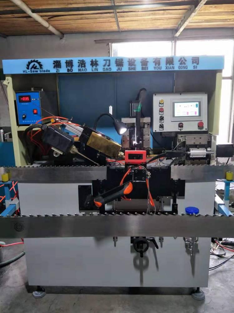 全自動司太立合金焊齒機生產廠家浩林刀鋸