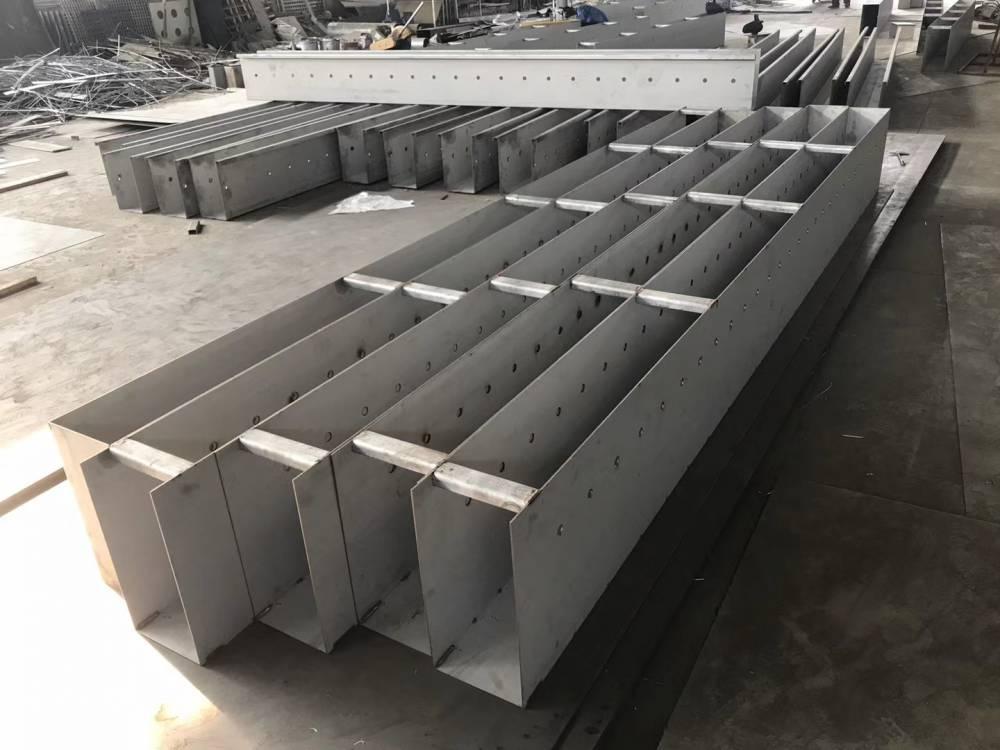 溢水集水槽_厂家定制不锈钢集水槽_不锈钢出水调节堰板
