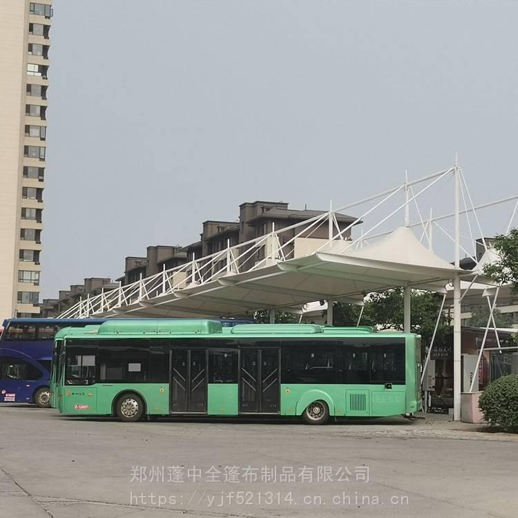 周口顺发工厂直销SFMJG4743膜结构雨篷 车棚 遮阳蓬
