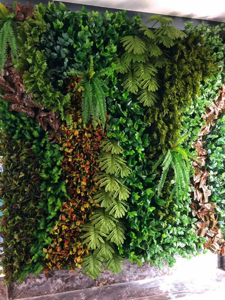 沈陽專業制作仿真植物墻 立體植物墻 植物墻裝飾 背景植物墻
