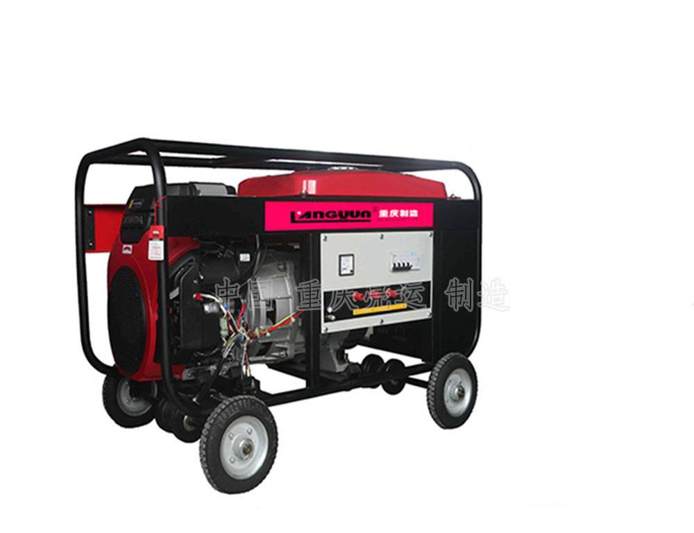 GF12/GF12-Ⅱ单/三相汽油发电机组QF12