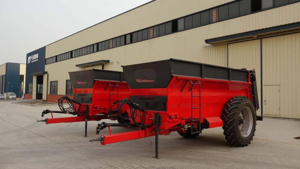 天盛机械2FGB-10S撒肥机撒肥车撒粪车施肥机械撒粪机