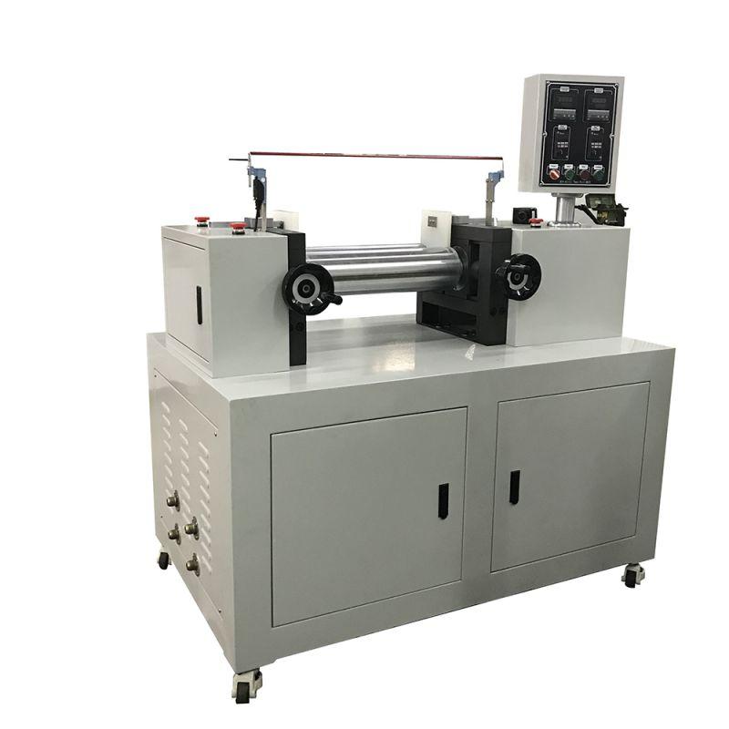 塑料定速双辊混合机、实验型硅胶单调频开炼机、橡胶小型实验混炼机