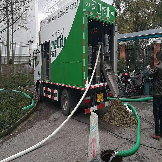 深圳九九八吸污净化车施工视频