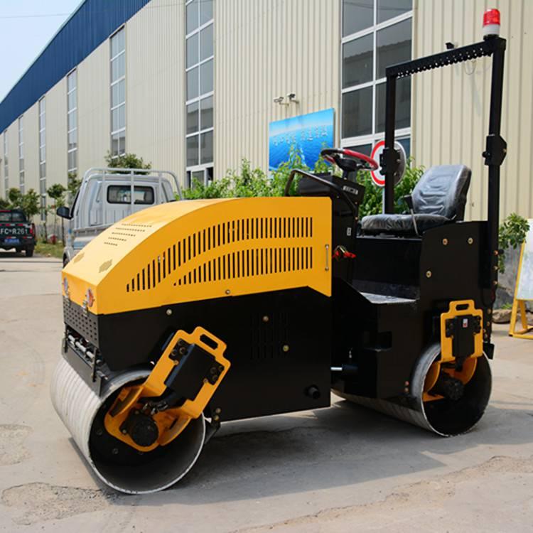 2吨全液压小型压路机 双轮沥青路面压实机