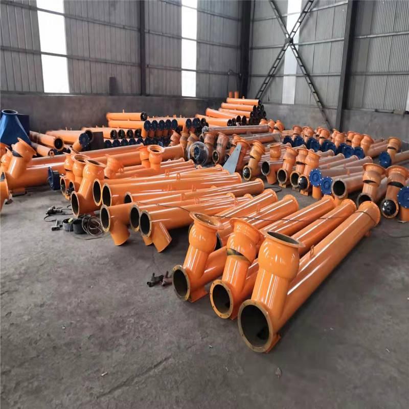 現貨Φ219水泥螺旋輸送機 可定做各種尺寸水泥螺旋輸送機