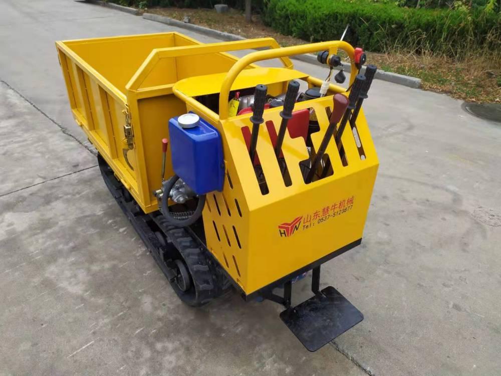 爬山虎农用车 爬坡果园履带运输车小型履带式拖拉机
