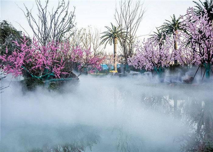 雾森系统,人工造雾设备,高压冷雾设备