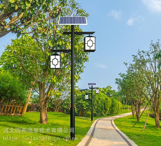 太陽能景觀燈四兩科技戶外led太陽能庭院燈仿古路燈