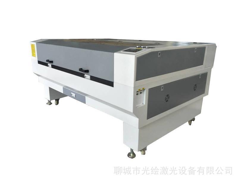 光绘激光不移位绣花、布标、服装辅料高精准摄像扫描定位巡边激光切割机 激光下料机