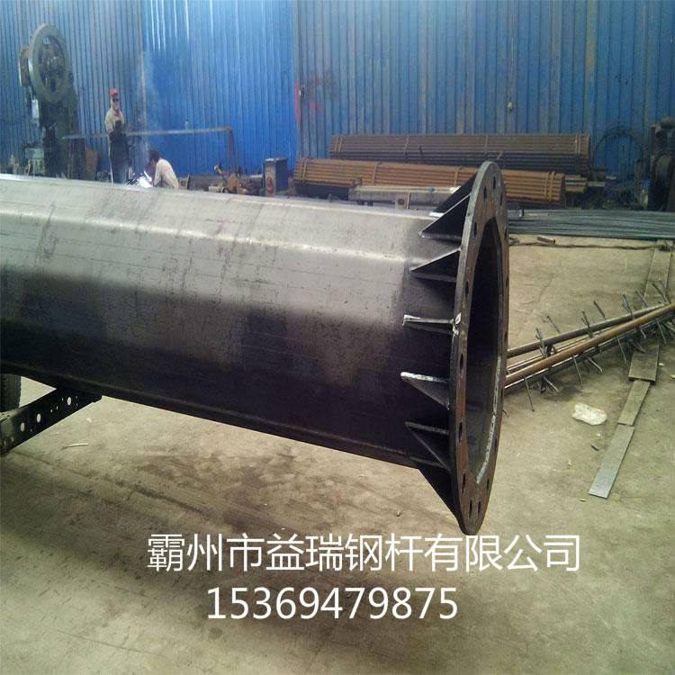 株洲市电力输电10KV-35kv电力钢管杆 耐张钢管杆 益瑞