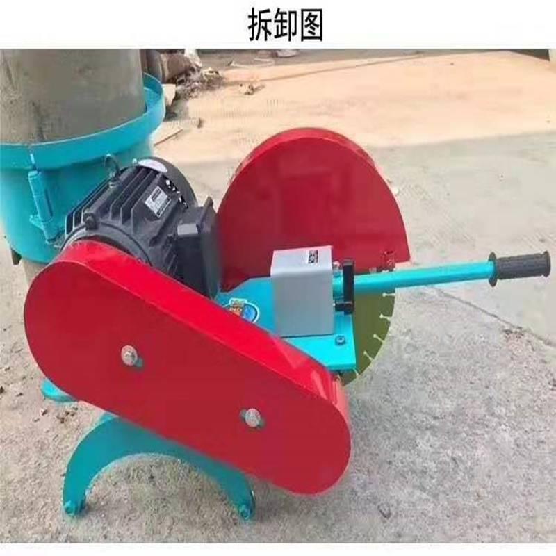 走量价 锯桩机 河道水泥柱子切割机 高效率锯桩机 混凝土管桩切割机