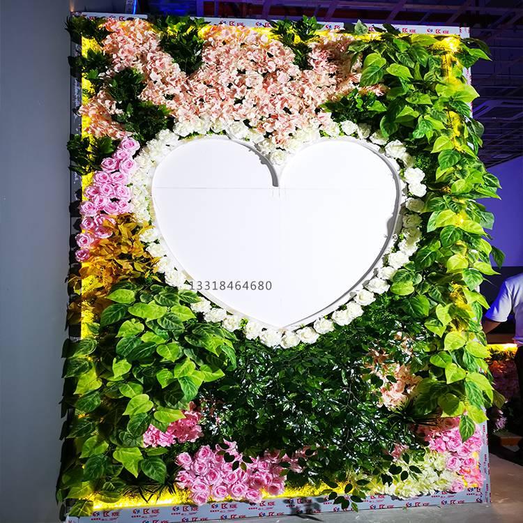 室內外仿真植物墻 裝飾綠植墻定制
